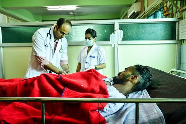 Private health insurance, which makes up the majority of the insurance schemes in India, has failed to provide adequate and low-cost coverage to those who need it most. Photo: Aniruddha Chowdhury/Mint