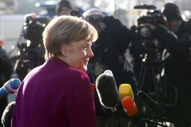 Angela Merkel has governed as acting Chancellor since her Christian Democratic-led bloc won an inconclusive national election in September. Photo: Reuters