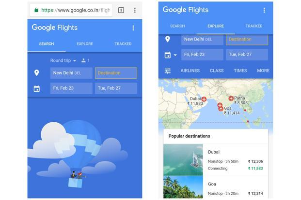 Google wants people to use its browser-based flight search and booking tool, called Flights, on their smartphones more often.