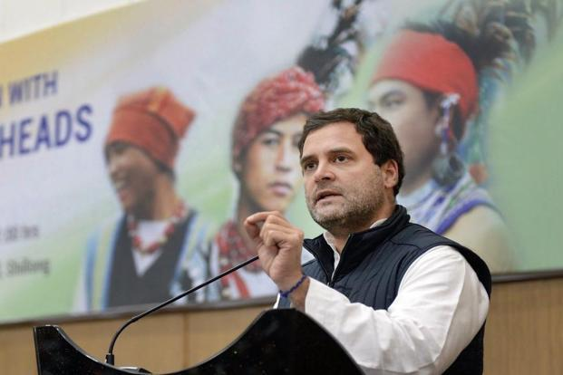 Rahul Gandhi said Narendra Modi seems to have forgotten that he is the prime minister not an opposition leader. Photo: PTI
