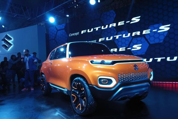 Auto Expo Maruti Suzuki Launches Concept Future S