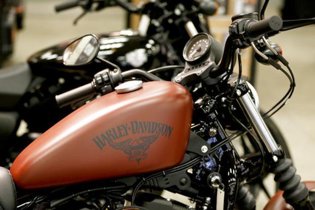 Harley-Davidson dealers will flush and replace brake fluid starting on 12 February. Photo: AP