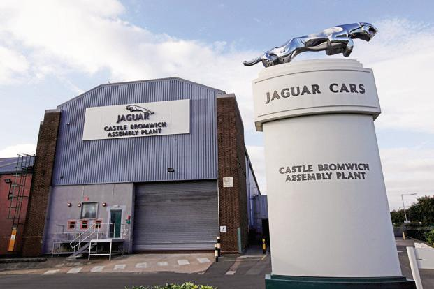 Sales of Jaguar brand of vehicles in January were at 14,066 units, a growth of 1%. Photo: Reuters