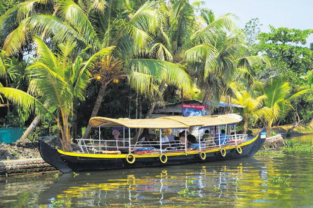 Between 2013 and 2016, the tourism growth rate in Kerala declined from 7.78% to 5.71%. Photo: AFP