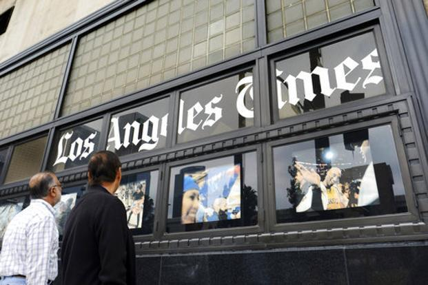 A new owner could appease the Times' editorial workers, who voted last month to unionize and pressured Tronc into replacing editor-in-chief Lewis D'Vorkin. Photo: AP