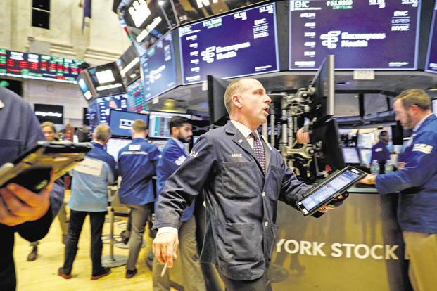 Stocks plunge; Dow has biggest point loss in history