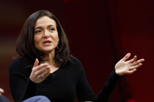 Sheryl Sandberg has a message for men who've adopted the 'Pence rule'