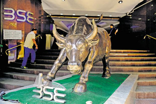 At 10.57am, BSE Sensex rose 1.30%, or 442.30 points, to 34,525.01, while Nifty 50 gained 1.18%, or 123.20 points to 10,599.90. Photo: Abhijit Bhatlekar/Mint