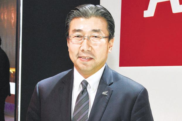 Minoru Kato, president and chief executive of HMSI.