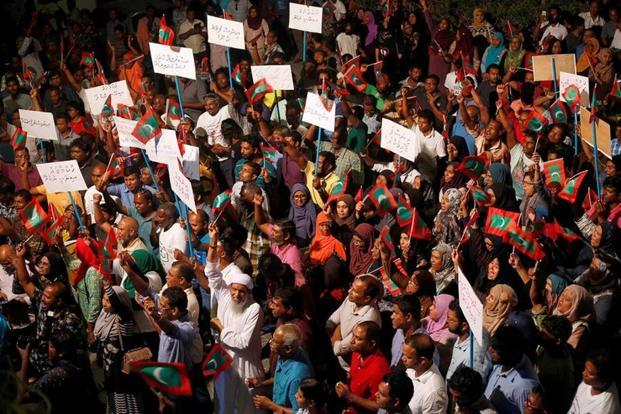 Maldives crackdown an