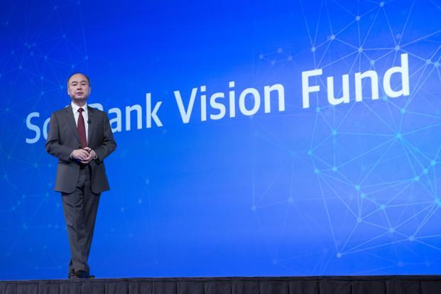 SoftBank's Masayoshi Son has already raised $93 billion of his planned $100 billion Vision Fund, the world's biggest private equity pool, which is struggling to find enough assets to buy. Photo: Bloomberg
