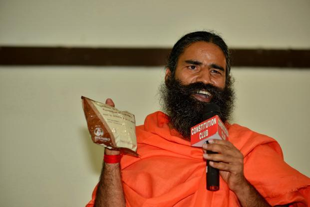 Patanjali Ayurved has also expressed interest in entering new areas such as infrastructure, solar power and apparel. Photo: Pradeep Gaur/Mint