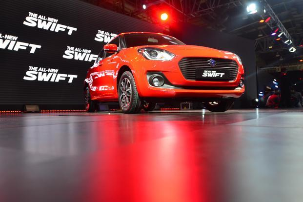 The Swift's new variant is equipped with Maruti Suzuki's auto gear shift technology, which would enhance fuel efficiency and convenience. Photo: Ramesh Pathania/Mint