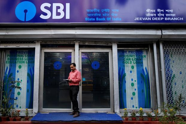 SBI's gross bad loans as a percentage of total loans stood at 10.35% at end-December. Photo: Reuters