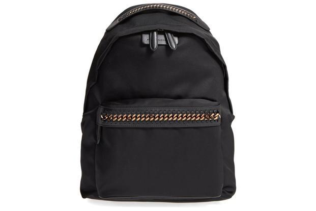 A Falabella Go backpack by Stella McCartney.