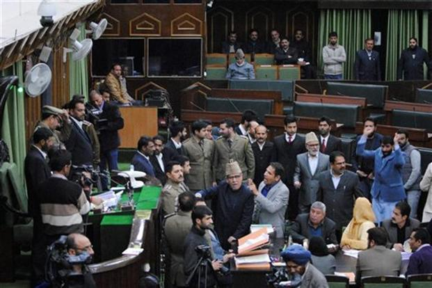 Pakistan Zindabad slogan chanted in Occupied Kashmir assembly