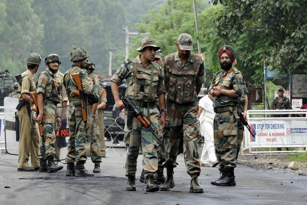 Army officials says the Jaish-e-Mohammed terrorists breached the rear side of the Sunjwan Army camp near Chenni in the outskirts of Jammu during the intervening night. File photo: Hindustan Times