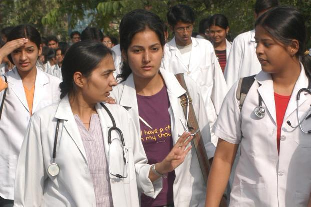 Every year, around 7,000 students go outside India to study medicine. Most of the students go to China and Russia. Photo: HT