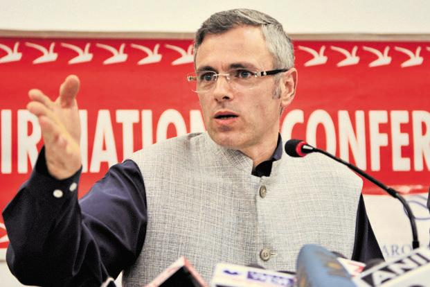 A file photo of former Jammu and Kashmir chief minister Omar Abdullah. Photo: Waseem Andrabi/HT