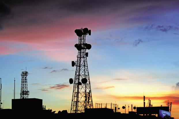 Telecom operators are liable to pay around 3-5% and 8% of the AGR as spectrum usage charges and licence fees, respectively, to DoT. Photo: Indranil Bhoumik/Mint