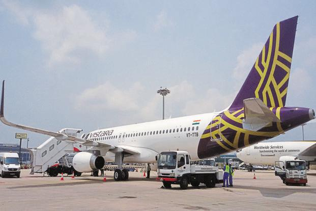 Representational image of a Vistara aircraft. The collision was averted after an automatic warning alerted the pilots of the two planes of being in close proximity to each other, an official said.