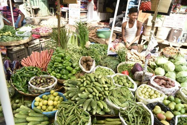 India's retail inflation in January slowed to 5.07% as food inflation softened. Photo: Indranil Bhoumik/Mint