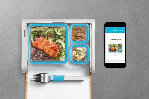 The Prepd Pack lunch box is a smart one with an app that helps you plan and prepare your lunch, and track your food's nutritional value so you can control what you eat.