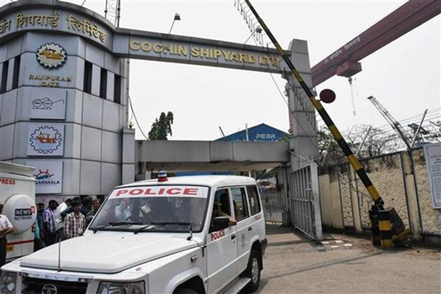 Five killed in blast at Cochin Shipyard