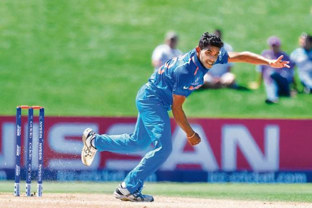 Shivam Mavi was India's joint second highest wicket-taker in the U-19 World Cup. Photo: AFP