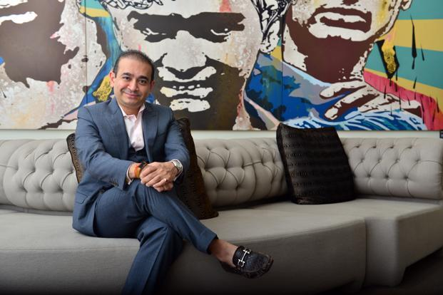 Billionaire jeweller Nirav Modi. Photo: Aniruddha Chowdhury/Mint