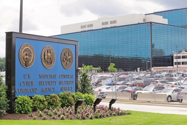 A file photo of National Security Agency headquarters in Maryland. Photo: AP