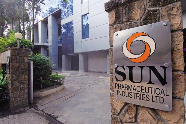 Sun Pharma shares closed 2.53% lower at Rs574.45 on BSE. Photo: Mint