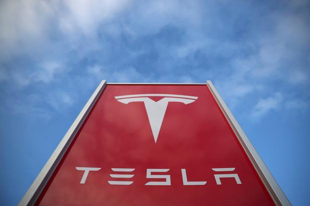 In China, Tesla sold 14,883 vehicles, accounting for just 3% of the nation's battery-powered EV sales of 449,431 units. Photo: Reuters