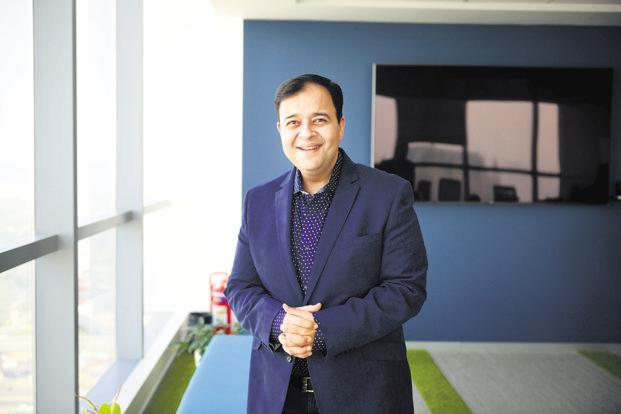 According to Umang Bedi, Dailyhunt has 80 million monthly active users who spend about 6 billion minutes on the service every month. Photo: Pradeep Gaur/Mint