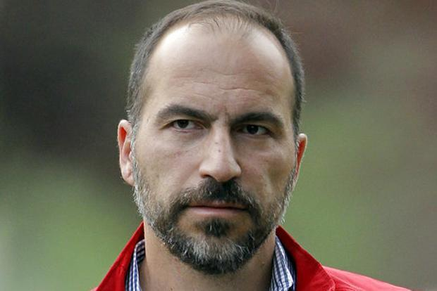 Uber is looking to partner with autonomous-vehicle companies, CEO Dara Khosrowshahi said, adding that the company is prepared to slowly integrate autonomous vehicles in its network filled with human drivers. Photo: AP