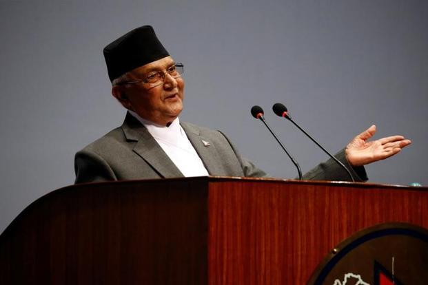 CPN-UML chairperson K.P. Sharma Oli today became Nepal's Prime Minister for the second time. Photo: Reuters