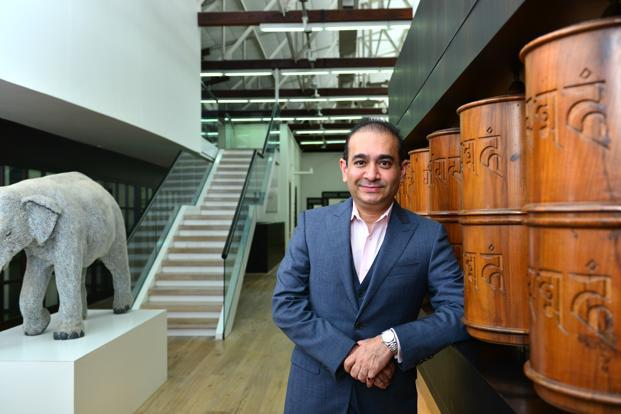 A file photo of billionaire jewellery designer Nirav Modi. Photo: Aniruddha Chowdhury/Mint