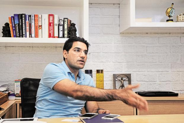 Quikr CEO Pranay Chulet. Quikr has been on an acquisition spree since 2015 and has acquired 13 companies in total till date across various categories. File photo: AFP
