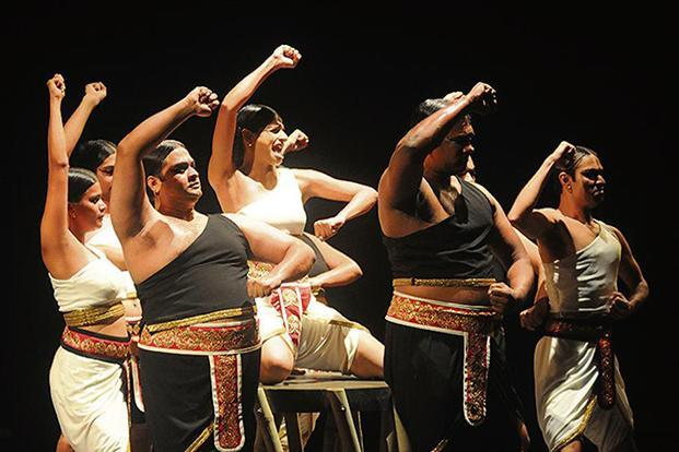 Scenes from 'Shikhandi: The Story Of The In-Betweens'. Photo: Narendra Dangiya