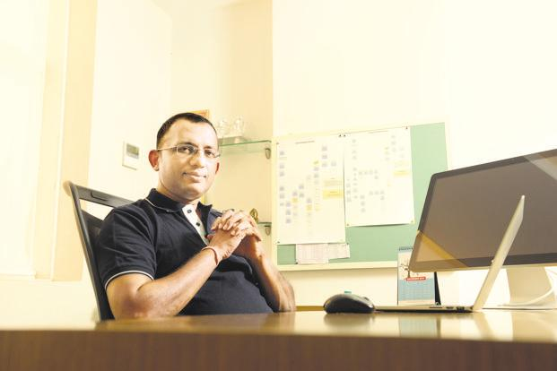 Virendra Gupta, co-founder and CEO of Dailyhunt. Photo: Hemant Mishra/Mint