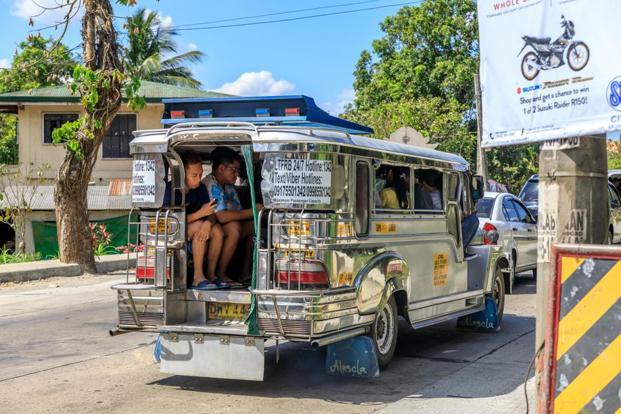 Jeepneys provide local transport on the island. Photo: Alamy