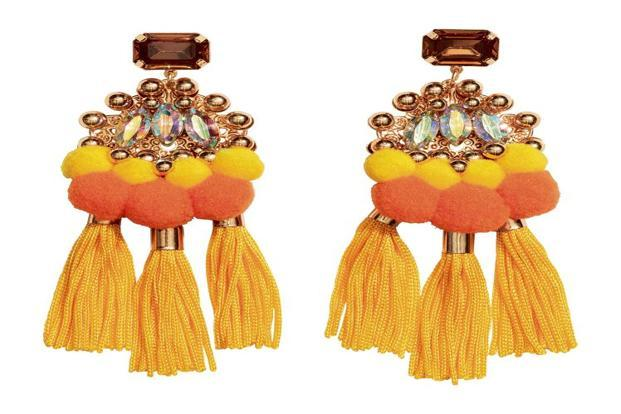 Tassel earrings by H&M.