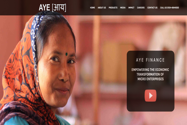 Aye Finance is a non-banking finance company (NBFC) that provides mortgage, hypothecation and term loan services to micro, small and medium enterprises (MSMEs).