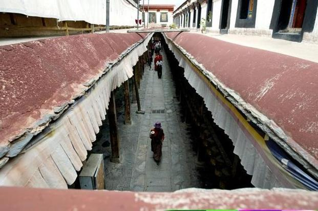 Fire has damaged Tibet's iconic Jokhang Temple