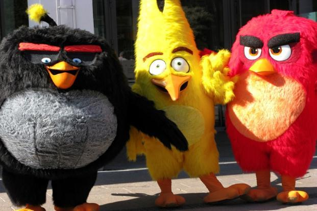 Angry Birds maker Rovio Entertainment's shares fell the most since an initial public offering in September. Photo: Reuters