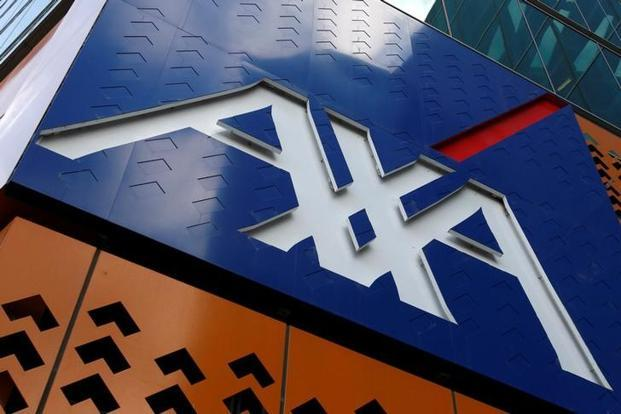 AXA reported earnings per share growth at the top of its targeted range of 3-7% a year over the 2016-2020 period. Photo: Reuters