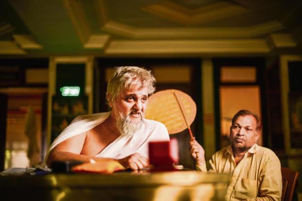 Acharya Yugbhushan Suri Maharaj at the Jain 'Upashray' in Ghatkopar, Mumbai. Photo: Aniruddha Chowdhury/Mint