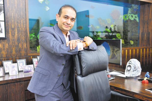 Interpol issued Red Corder Notice against Nirav Modi