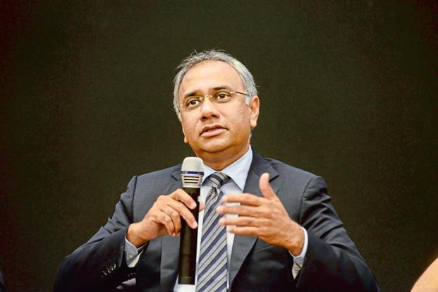For the first three months of 2018, Salil Parekh will be paid an 'initial variable pay' of Rs2.37 crore, apart from fixed salary and other benefits. Photo: Hemant Mishra/Mint