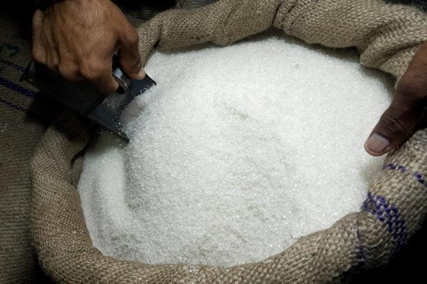 Global sugar prices have tumbled about 33% in the past year on a global surplus as production increases in Europe and India. Photo: Bloomberg